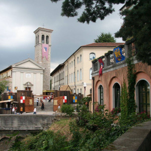 Chiesa di San Martino in occasione del Palio